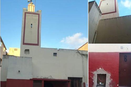 """صور/ """"الإنزعاج"""" من الآذان يغلق مسجداً بسلا !"""