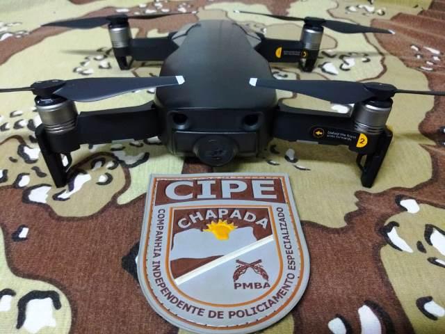 Cipe Chapada recebe doação de Drone para operações aéreas