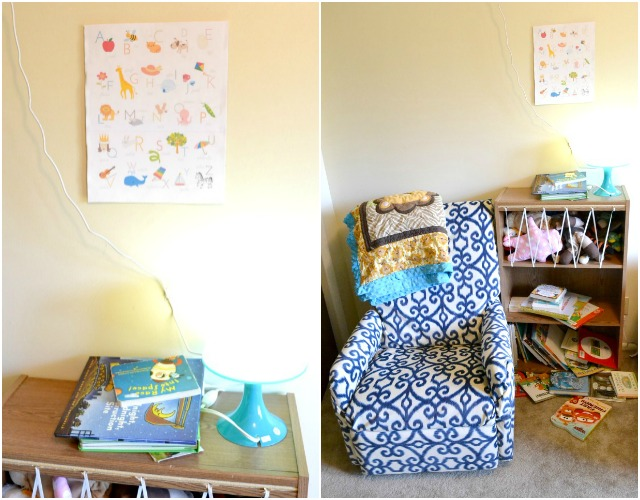Wall Decor for Shared Boy and Baby Girl Room