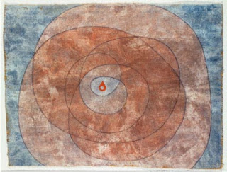 Paul Klee painting - Around The Kernel