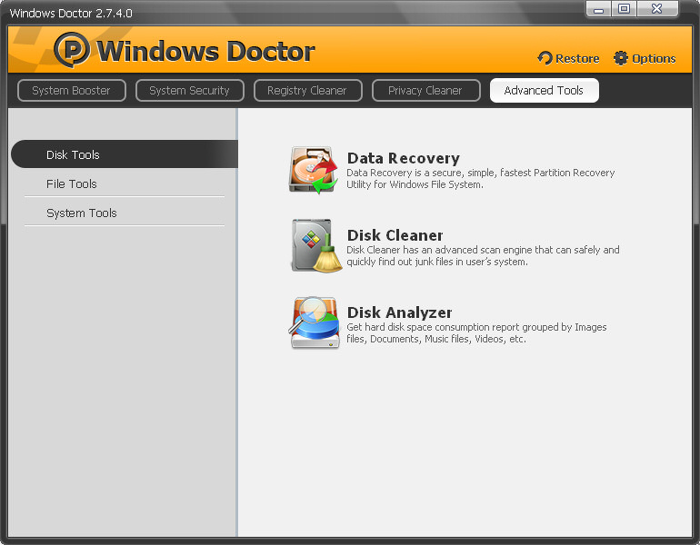 Download Windows Doctor 2.7.4 serial included!