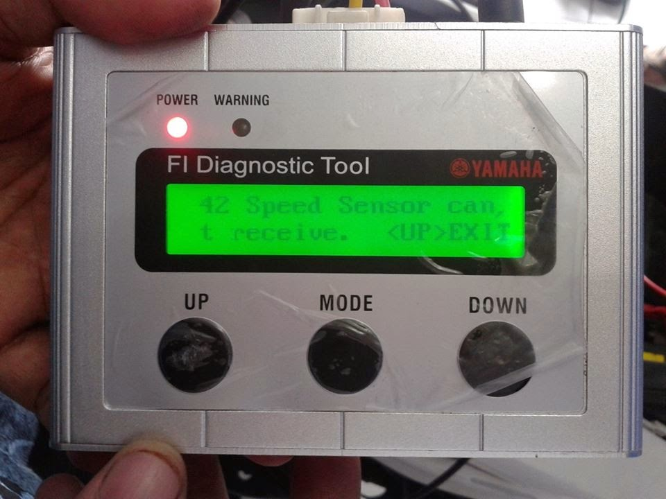 alat diagnosa motor injeksi yamaha