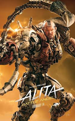 Alita Battle Angel Rosa Salazar Movie Poster 11