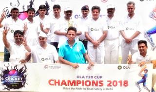 Ola T20 Cricket Championship 2018: Delhi Police XI Beats Media XI