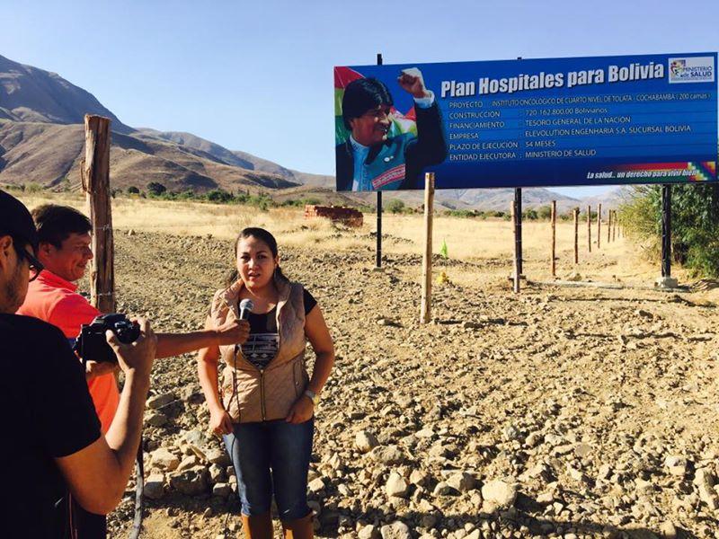 Asambleísta Mendoza recuerda que corre plazo para entregar oncológico de Tolata
