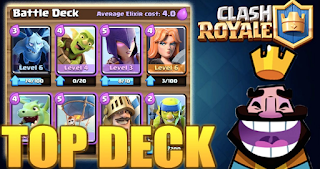 5 Battle Deck Terkuat di (CR) Clash Royale