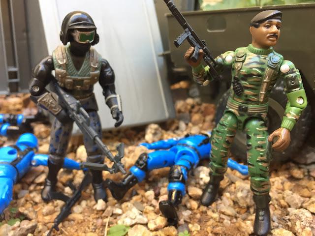 1997 Stalker, Stars & Stripes, TRU Exclusive, 1983 Wolverine, Snake Eyes, 2017, The General, Red Laser Army, 2005, HAS, Cobra Soldado, Black Major, Cobra Trooper