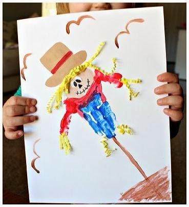 Cara Membuat Kerajinan Tangan Yang Mudah Untuk Anak - Lukisan Boneka Sawah