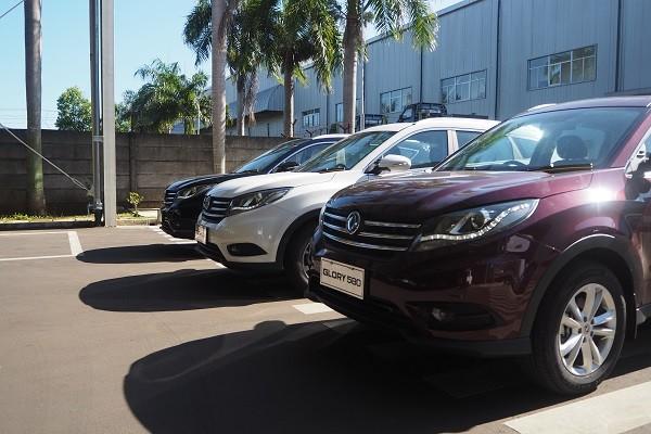 Mobil Cina dengan Interior Mewah