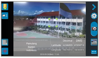 mencari titik koordinat dapodik menggunakan aplikasi gps map camera3