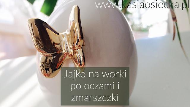 Maseczka z białka www.kasiaosiecka.pl