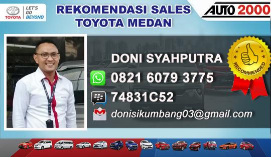 Rekomendasi Toyota Medan Harga dan Kredit Murah 2019