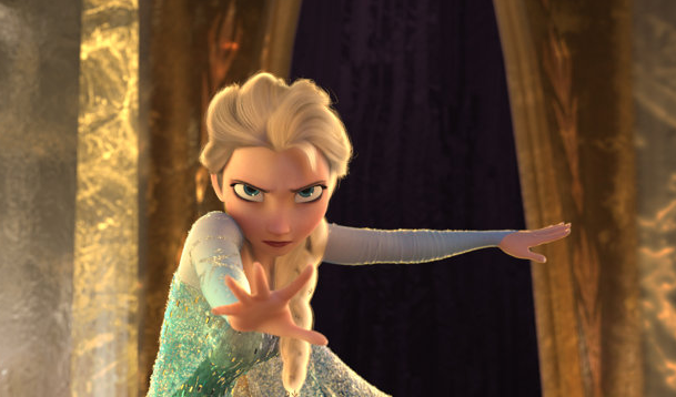 "Elsa from ""Frozen"" animatedfilmreviews.filminspector.com"