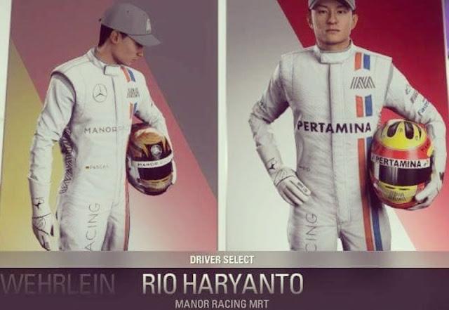 Pertama Kali dalam Sejarah, Pembalap Indonesia Muncul di Game F1