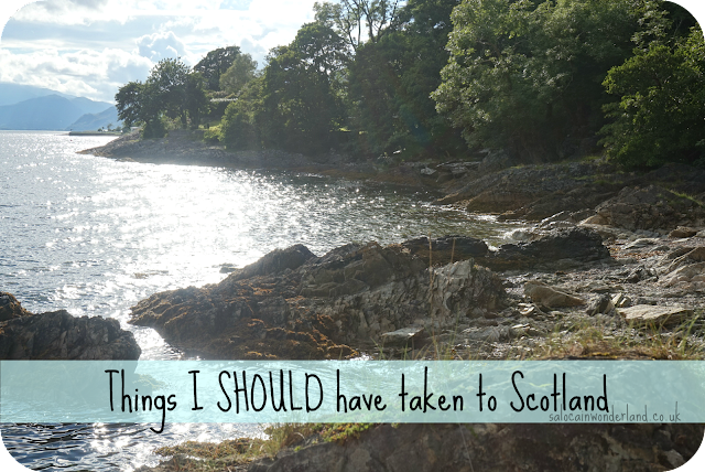 what to pack for scotland