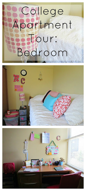 On Campus College Apartment Tour: Bedroom