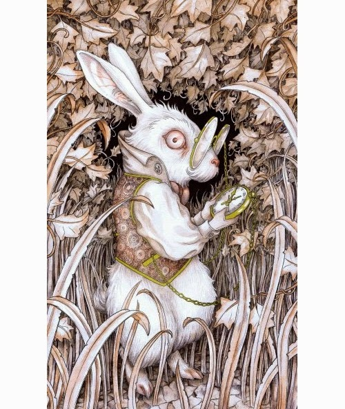 10-The-White-Rabbit-Adam-Oehlers-Illustrations-and-Drawings-from-Oehlers-World-www-designstack-co