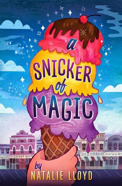 Momo celebrating time to read: A snicker of magic by