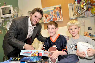 Jay Culter With His Kids