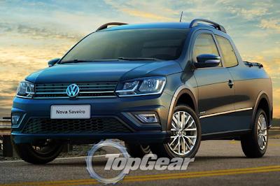 2016 Volkswagen Saveiro Exterior