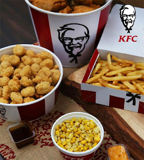 KFC Canada Menu Prices August 8 - September 25, 2017