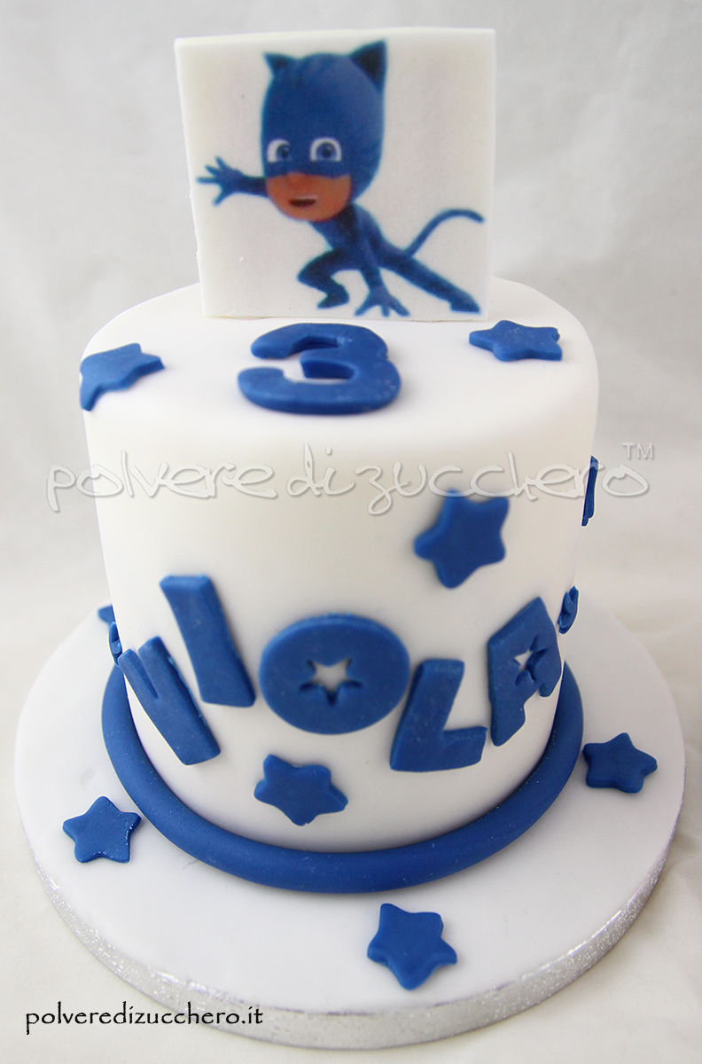 Torta Cake Design Milano : Mini Cakes Pj Masks Connor, Amaya: le mini cakes dei Super ...
