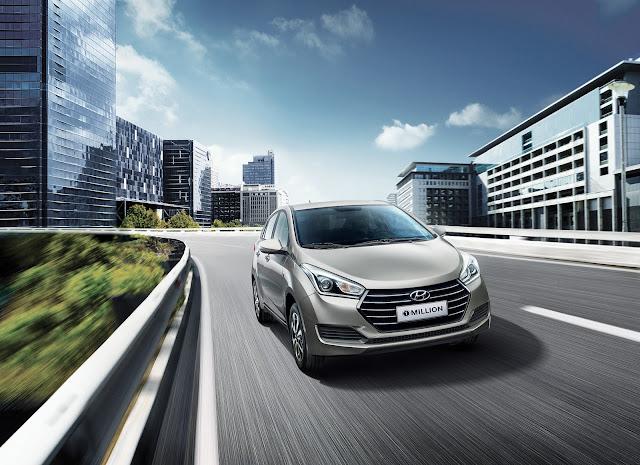 Hyundai lança versão 1 Million do HB20 e Creta