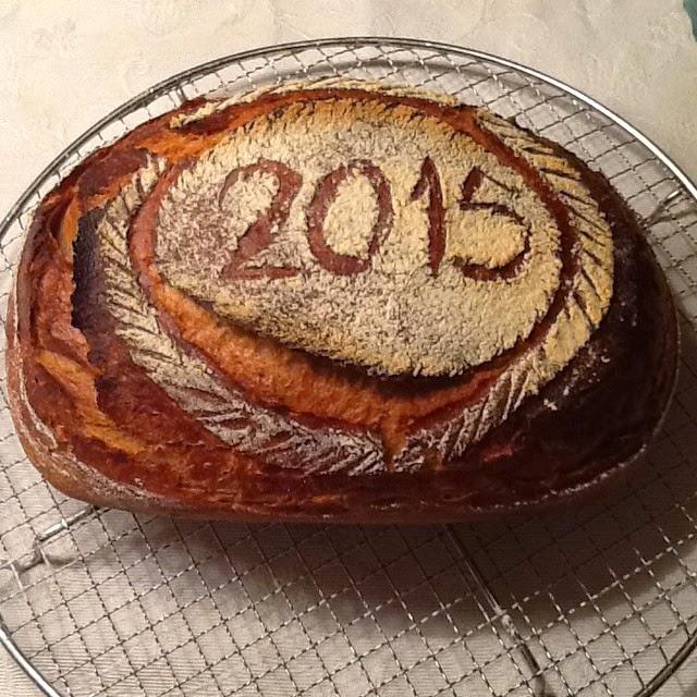 Brot zum Jahresbeginn 2015