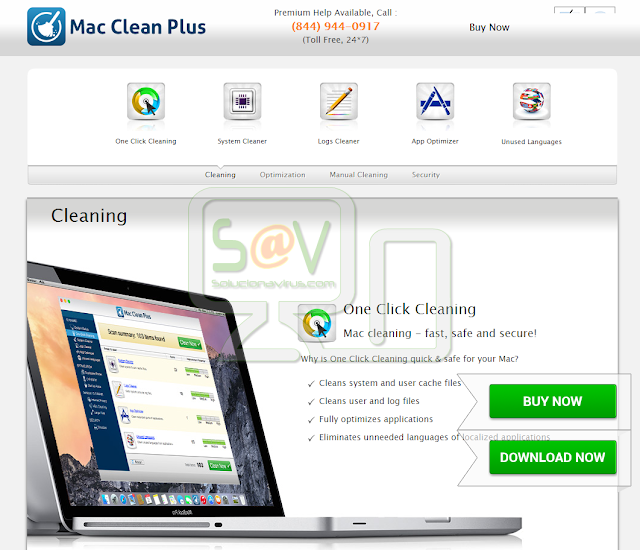 Mac Clean Plus