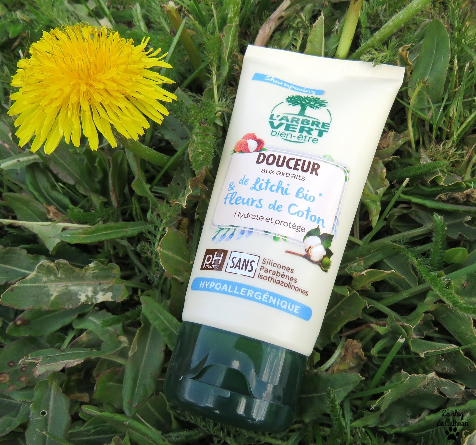 Shampoing Douceur - Litchi Bio & Fleurs de Coton