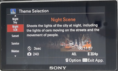 Theme Night Scene Pada Pembuatan Video Timelapse Menggunakan Sony A6000