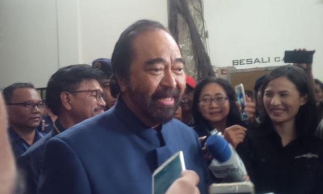 Surya Paloh Kritik Kebijakan Pemerintah soal Investor Asing, Netizen: Ayo Pak Jokowi Tegur Bapak Angkatnya