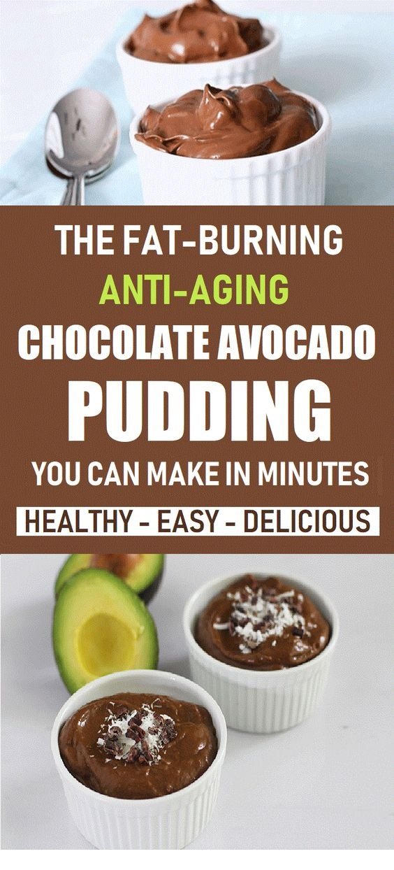 The Fat Burning, Anti-Aging Chocolate Avocado Pudding You Can Make In Minutes