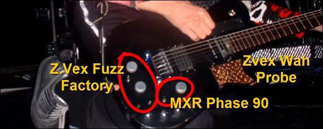 Características de la Guitarra de Matt Bellamy