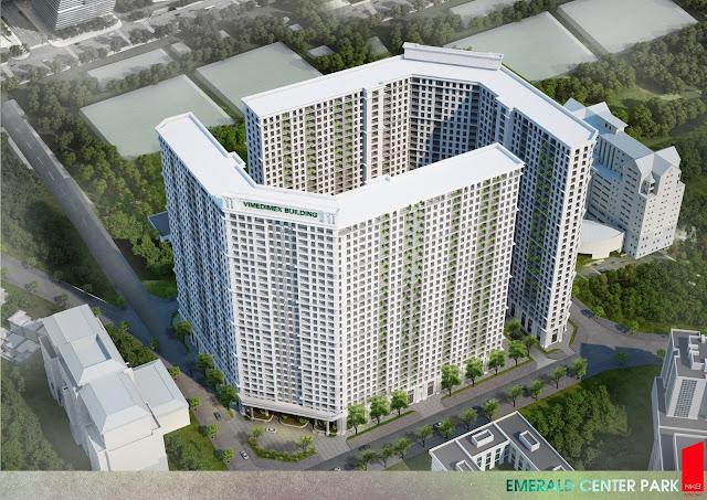 Mô phỏng thiết kế dự án chung cư The Emerald