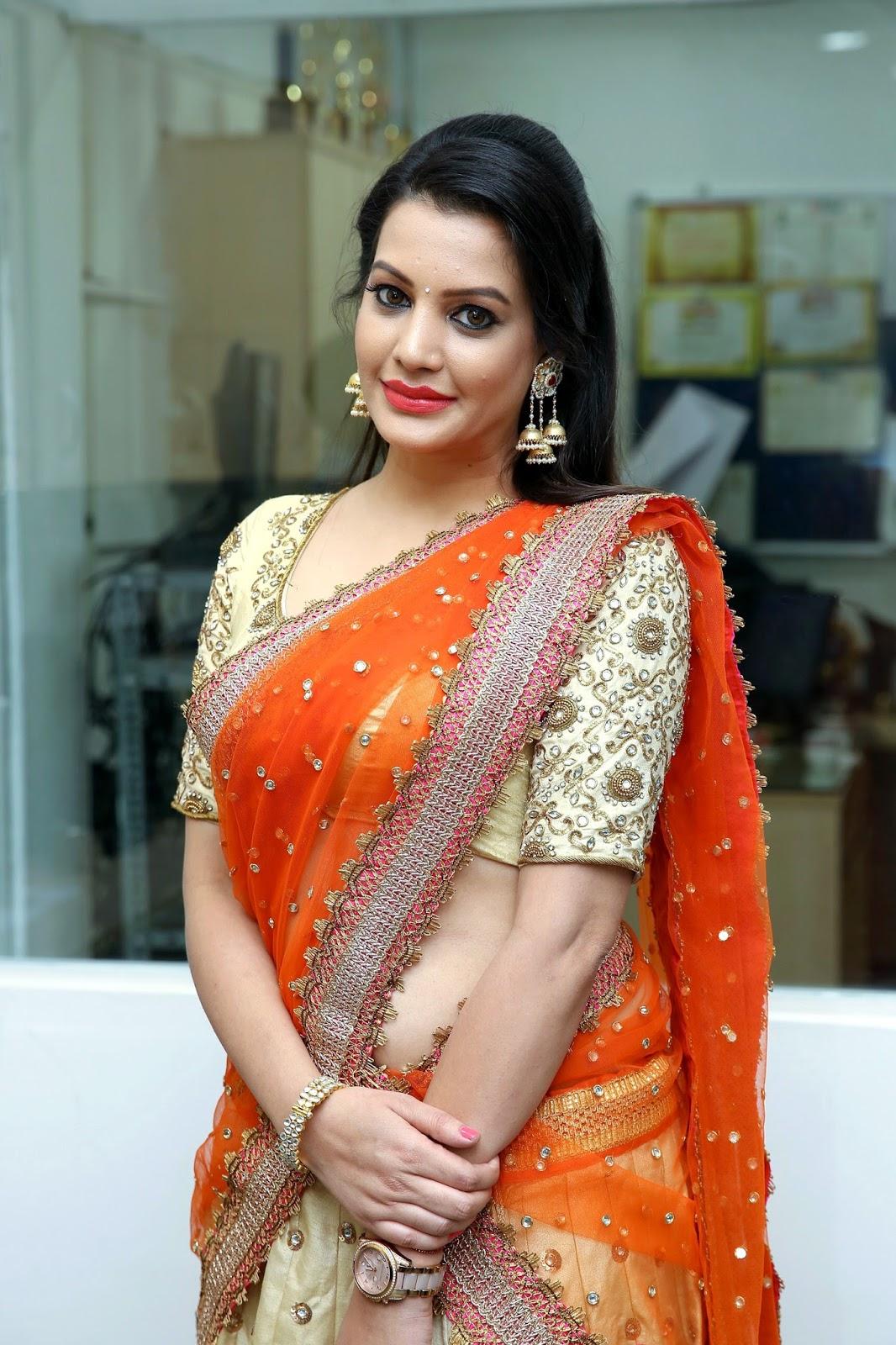 Beauty Galore HD : Diksha Panth Hot Stills In Half Saree ...