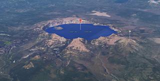 Jezioro Kraterowe - wulkaniczne (Google Maps)