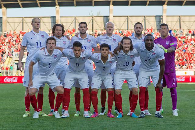 Formación de Estados Unidos ante Chile, amistoso disputado el 28 de enero de 2015