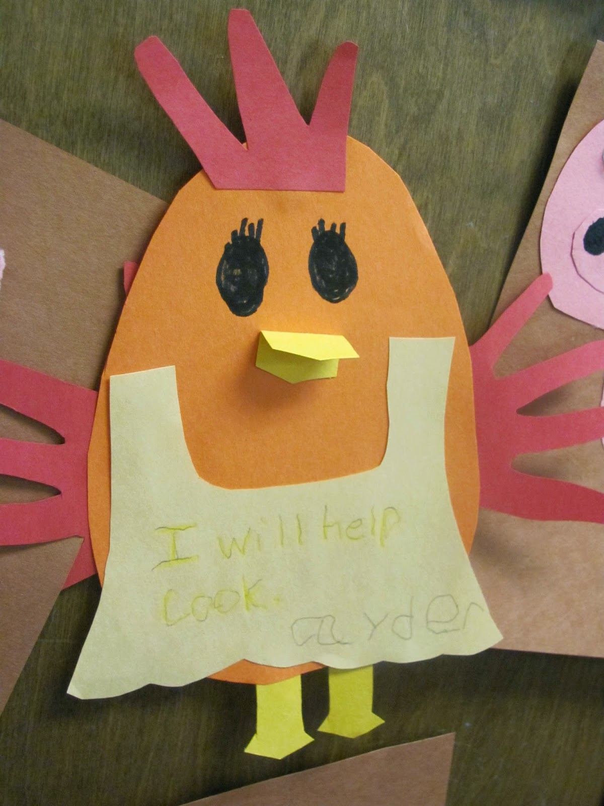The Little Red Hen Art And Writing Activity