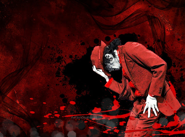 Michael Jackson Dangerous Digital Art