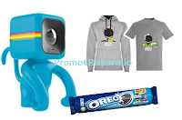 Logo Concorso ''Oreo People'': vinci 1250 premi ( felpe, t-shirt e Action Camera)