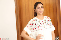 Lavanya Tripathi in Summer Style Spicy Short White Dress at her Interview  Exclusive 214.JPG
