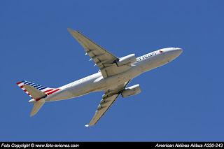 AVIÓN AIRBUS A330 N286AY