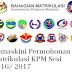 Kemaskini Permohonan Matrikulasi KPM Sesi 2016/ 2017