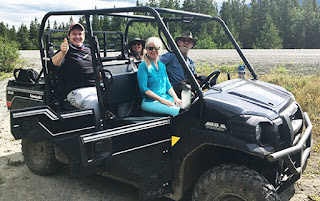 Brenda in a 4x6 Jeep