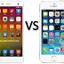 So sánh xiaomi mi4 và iPhone 5S lock