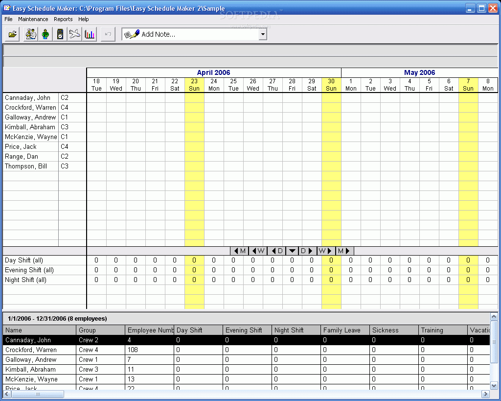 freeware employee scheduling software easy schedule maker free