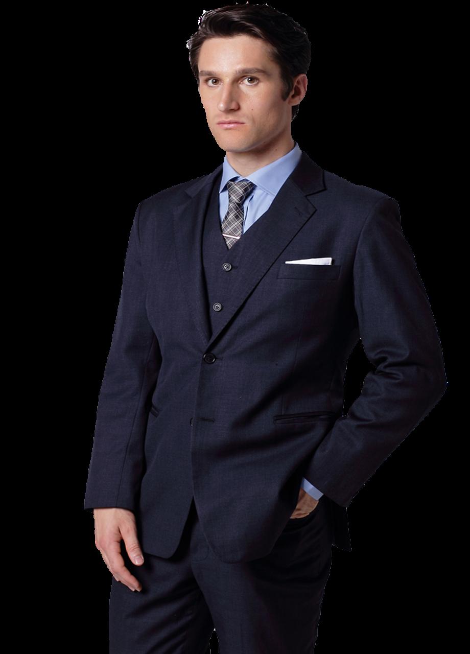 Fashion Bespoke Suits Online: Navy Blue Men's Suits