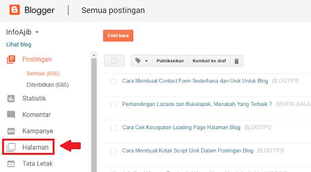 Cara Membuat Contact Form Sederhana dan Unik Untuk Blog