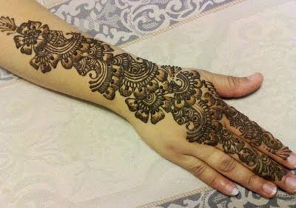 Bridal Mehndi New Latest Design : Latest mehndi designs for bridal nechcheli all about women s